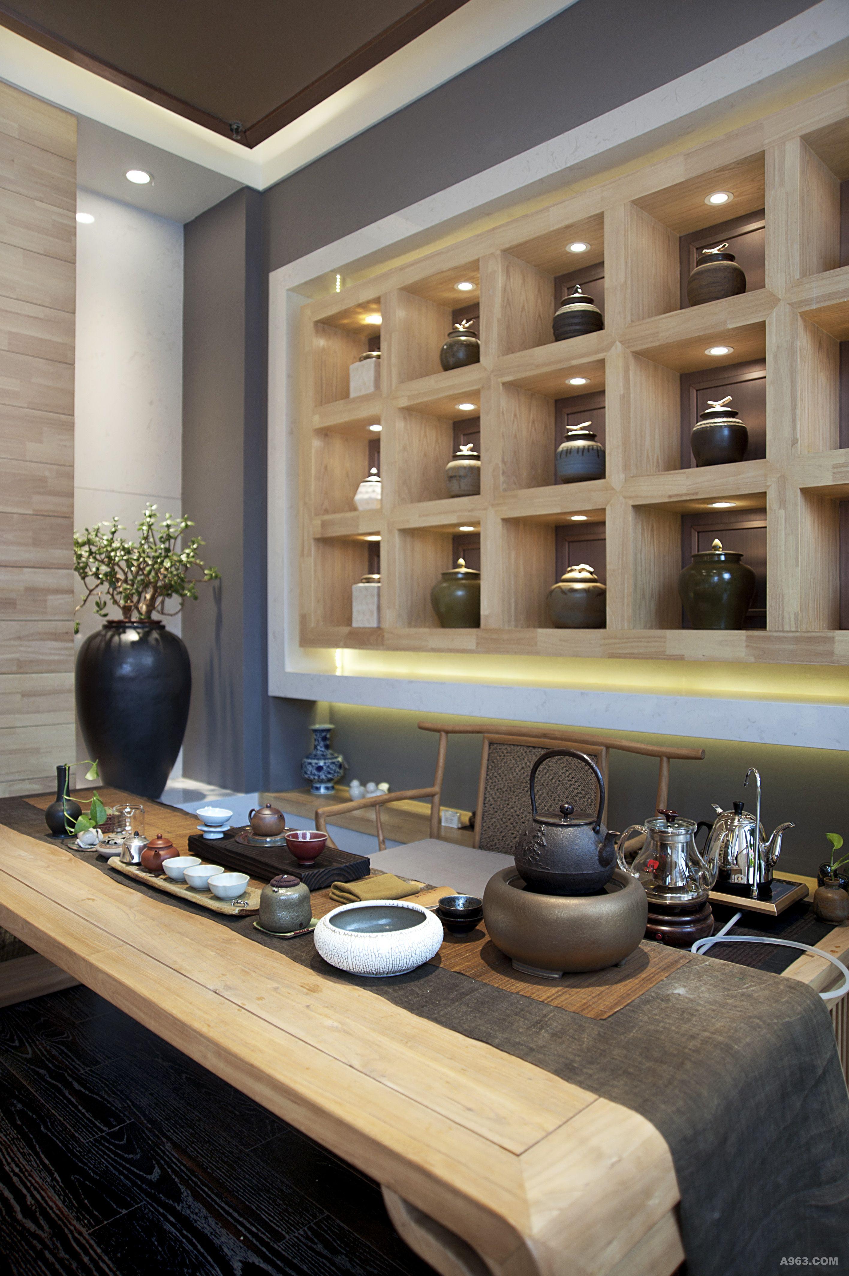 瑞草茶舍 - 商业空间 - 第5页 - 王卫东设计作品案例